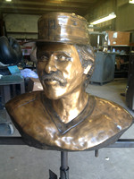 Phil Garner Bronze Portrait